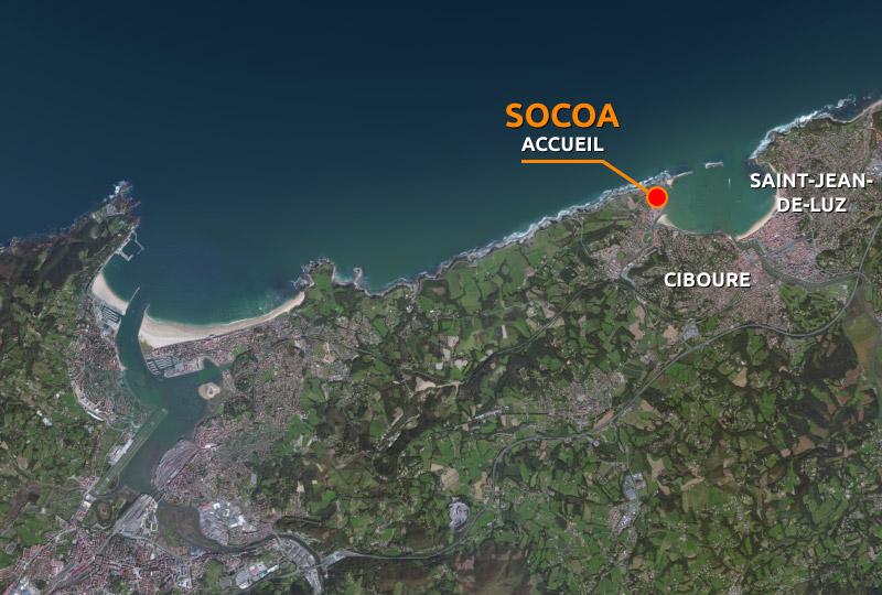 "Ciboure ""Plage de Socoa"" | handiplusaquitaine.fr"